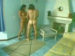 Latinas Wearing Heels In A Threesome
