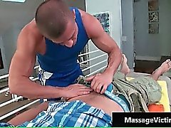 Hot oily massage makes this gay horny part6