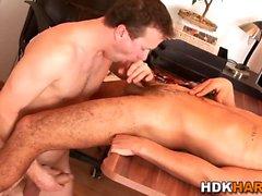 Geile Homosexuell Hunk reitet Hahn