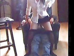 Vilain divertissant de fumer Fetiche
