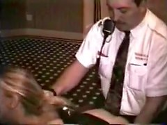 Naughty Wife Fucking Hotel Security Guard