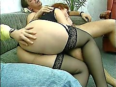 threesome fucked plump