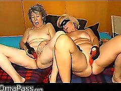 One chuby Granny and one old dominant Granny
