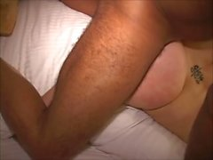 Bigass MILF sucks cock Milks prostate Takes fist Strapon fucks sobbing slut