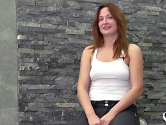 Her Limit - Russian babe deepthroats and takes rough anal