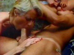 Aunt Peg orgy retro sex