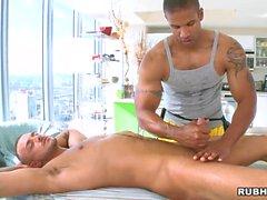 Massagem quente para boyfrend