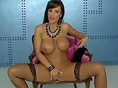 Lisa Ann Stripping and Playing