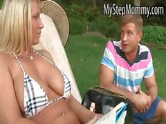 Stepmom Devon and stepdaughter share BF