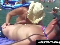 Texas Cougar Deauxma & Hubby besuchen Swinger Party - SEX!