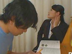 Harenchi No Bra Katei Kyoshi - Scene 1