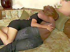 Бразильская Wife супоросая Группой Секс