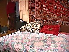 The Russian woman and young person on secret to apartment. Epizod # 3.