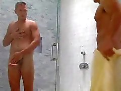 hot shower action