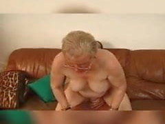Old granny fuck with man