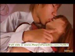 Kirara Asuka innocent Chinese schoolgirl gets pussy licked