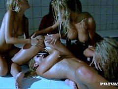 Lesbo Orgiat joilla Eevalle enkeli Zafira Clara G ja More