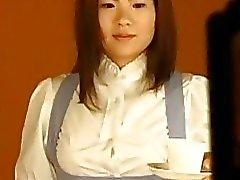 Rina Aihara edepsiz kız bağladı ve ateşli bağımlılık sahneler susturulmuştur alır