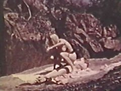 К Лицам Нетрадиционной Сексуальной Peepshow Loops 627 70-х и 80-х годов - Scene четыре