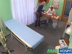 FakeHospital Skinny blonde takes doctors