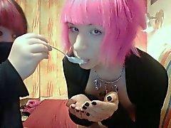 Calientes Bunny Boy Mamadas Comedor de semen Dulce y Sexy