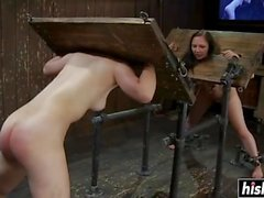 Hardcore pleasures for a beautiful chick