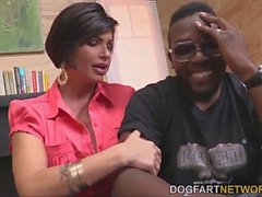 Shay Fox having sex with a black guy
