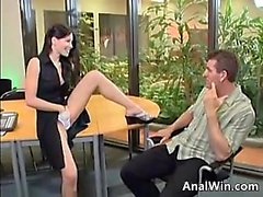 Sexy Teen Being Fucked In The Office