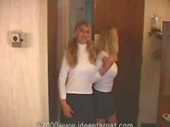 Heather Brooke - Teaching with friend