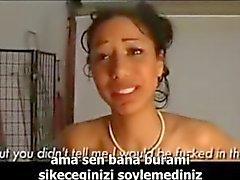 turkish sub anal pain-turkce altyazili aci anal