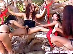 Big Sister Tickled Outdoors