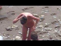 Nude Beach - Fun Photoshoot