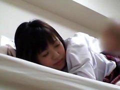 Japanese teens school uniform fuck Uncensored