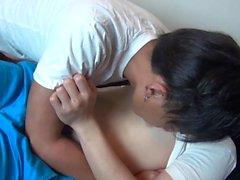Японский подросток лицевой