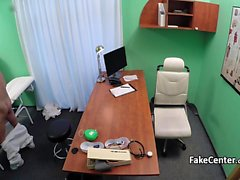 Doctor fucks teen patient in office