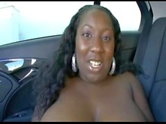 big tit black chick from blackscrush backseat creampie