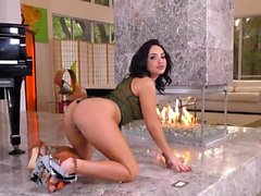 Babe mouth spunked by bbc