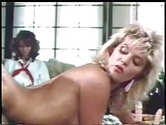 Vintage blond slut banged & cummed