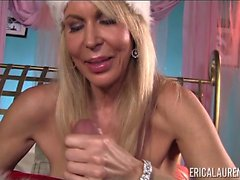 Erica Lauren Santa Helper Hand Job