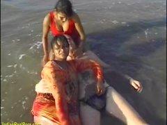 indio orgía de sexo en la playa