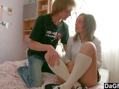 Stepsister fucked in secret by stepbrother