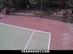 Tennis Training Gone Bad