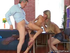Gina Gerson - Teacher Threesome