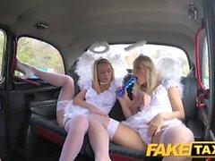 FakeTaxi Angels fuck santas little helper