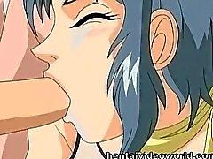 Porn slampa att ge mun- och bli 2 stavarna