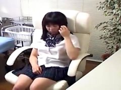 Camgirl in maid uniform private webcam