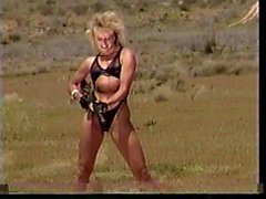 Girls Shooting Machineguns 2