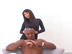 Nyomi Marcela Interracial With Mandingo