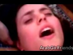 Beautiful Arab amateur does homemade POV scene with bf