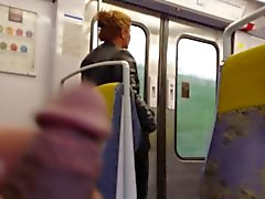 masturbation dans le train